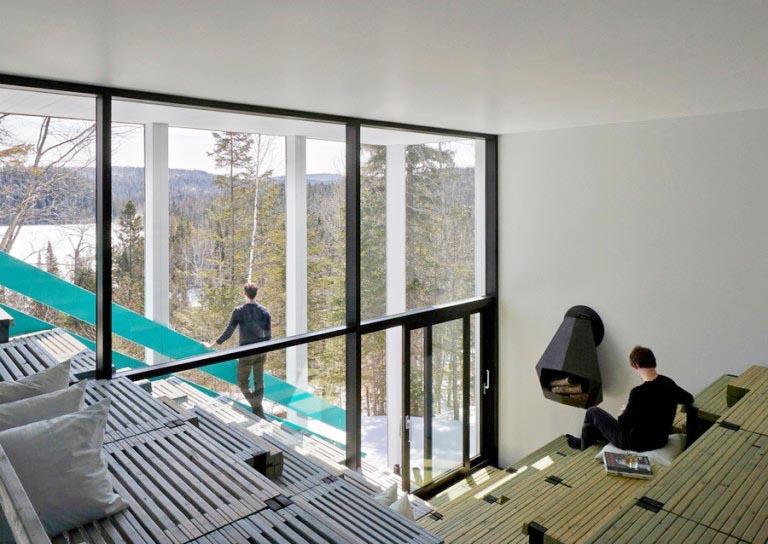 Дом на озере Джаспер / Lake Jasper House
