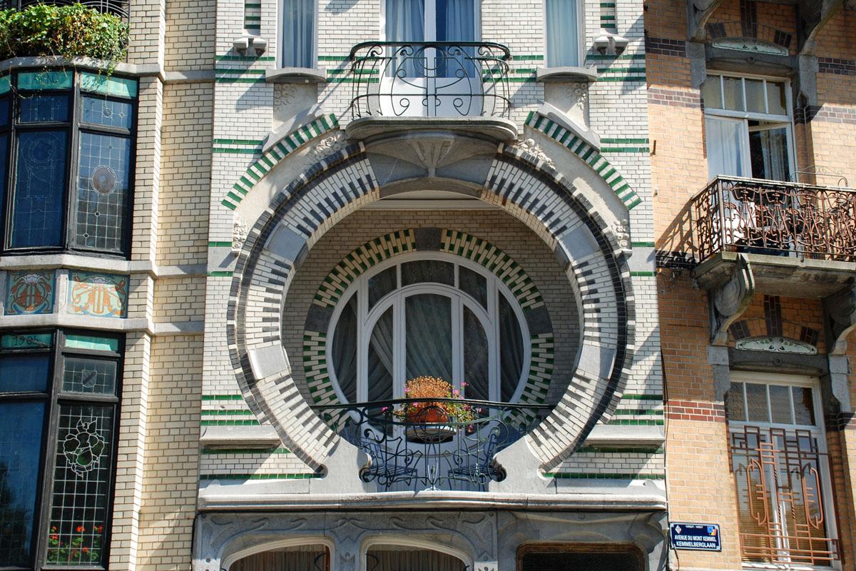 Дом Нелиссена в стиле ар-нуво в Брюсселе