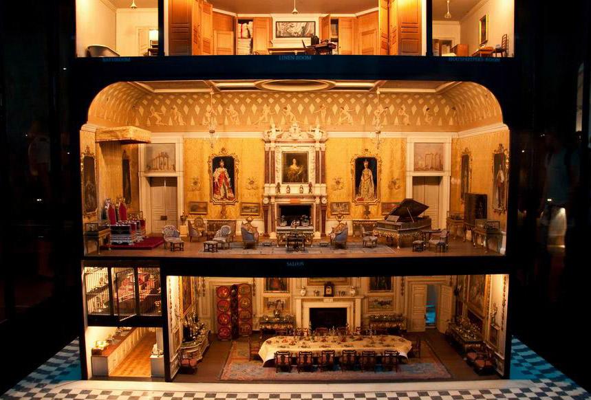 Queen Mary's Doll's House / Кукольный дом для королевы Марии