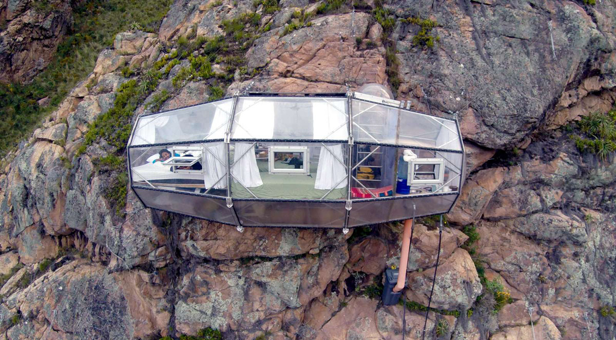 Skylodge Adventure Suites в Перу
